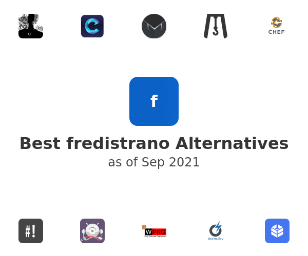 Best fredistrano Alternatives