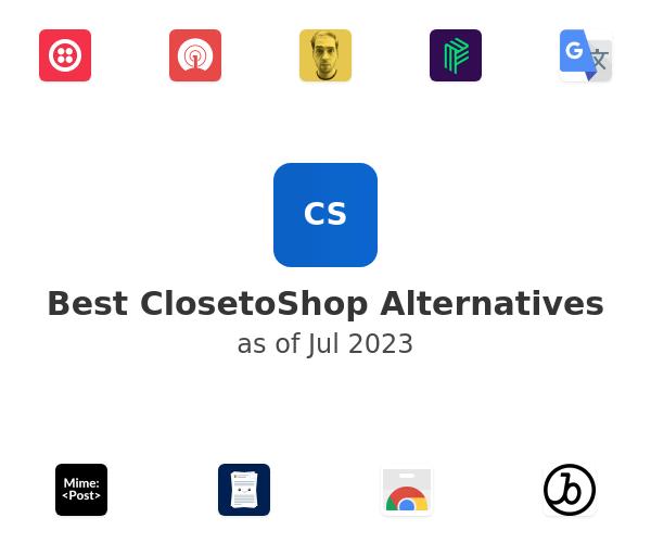Best ClosetoShop Alternatives