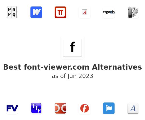 Best font-viewer.com Alternatives