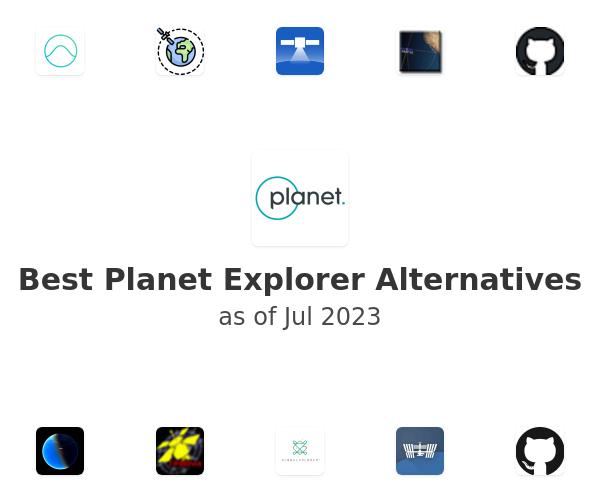 Best Planet Explorer Alternatives