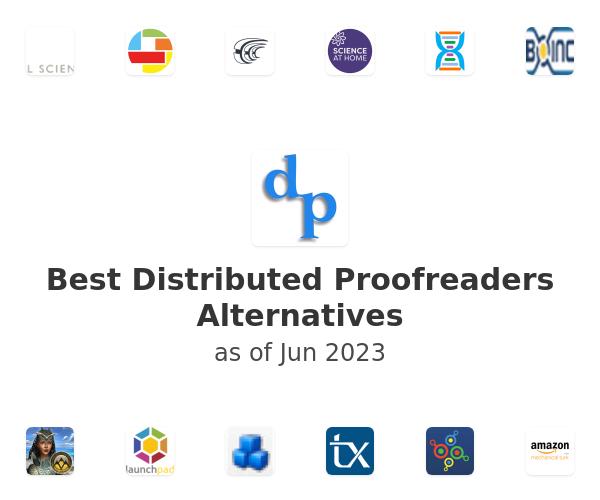 Best Distributed Proofreaders Alternatives