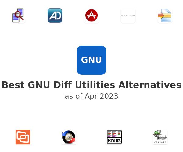 Best GNU Diff Utilities Alternatives