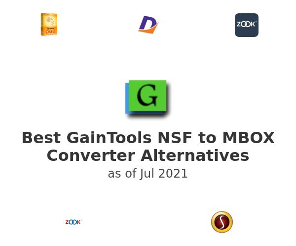 Best GainTools NSF to MBOX Converter Alternatives