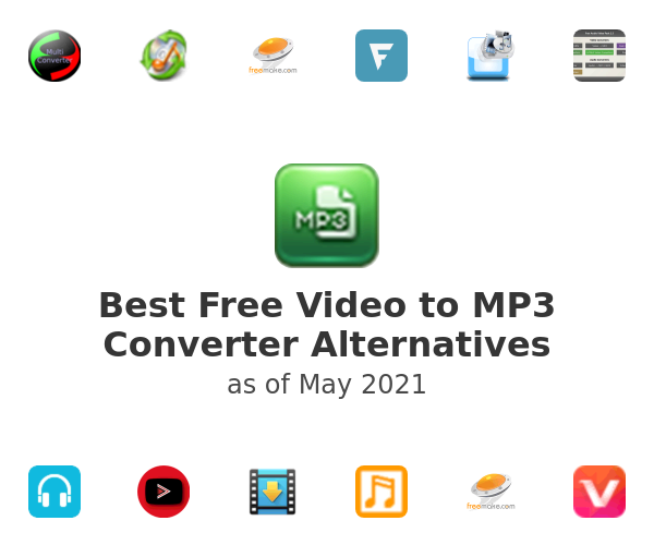 Best Free Video to MP3 Converter Alternatives