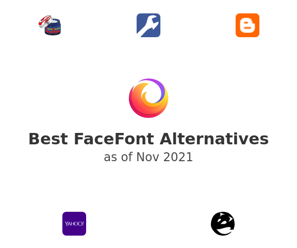 Best FaceFont Alternatives