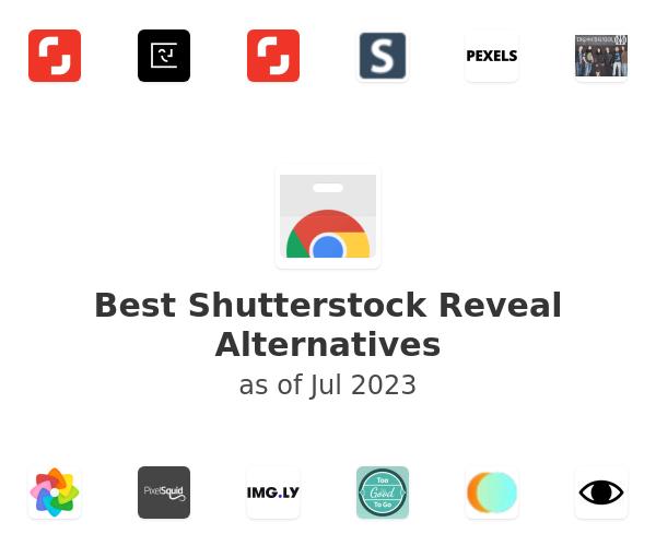 Best Shutterstock Reveal Alternatives