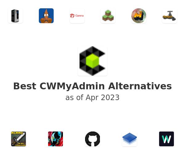Best CWMyAdmin Alternatives