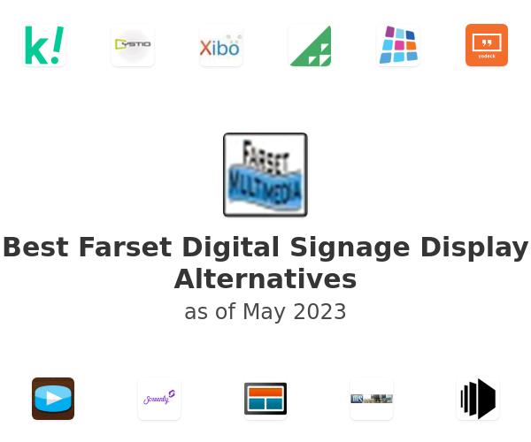 Best Farset Digital Signage Display Alternatives