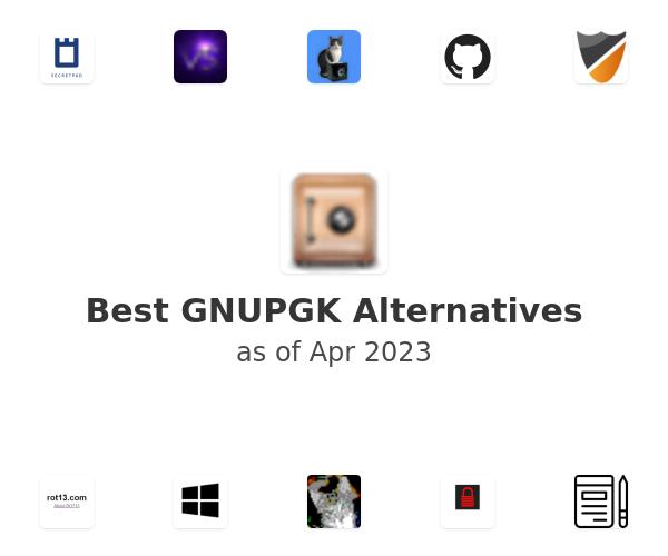 Best GNUPGK Alternatives