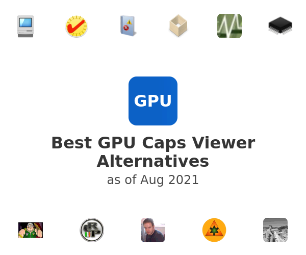 Best GPU Caps Viewer Alternatives