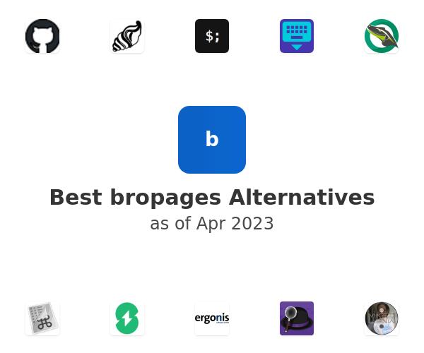 Best bropages Alternatives