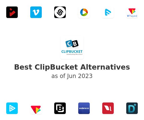 Best ClipBucket Alternatives