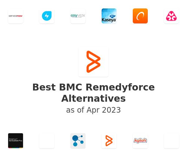 Best BMC Remedyforce Alternatives