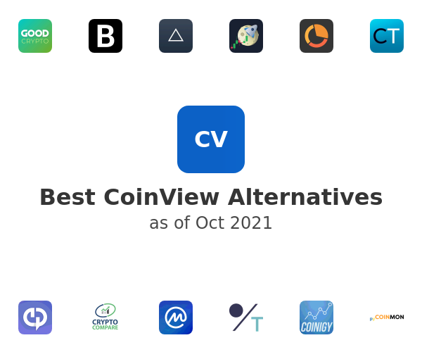 Best CoinView Alternatives
