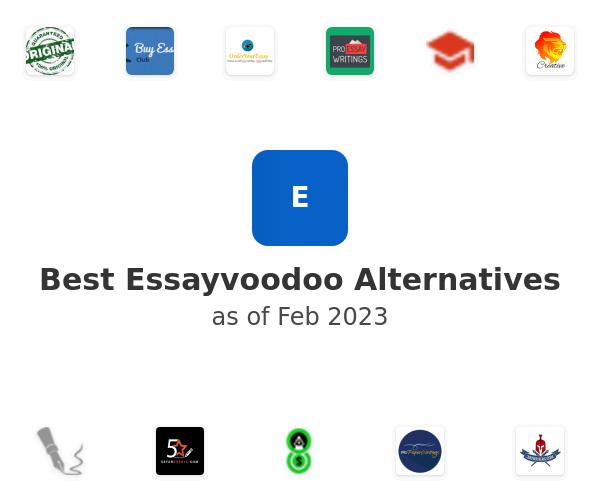 Best Essayvoodoo Alternatives