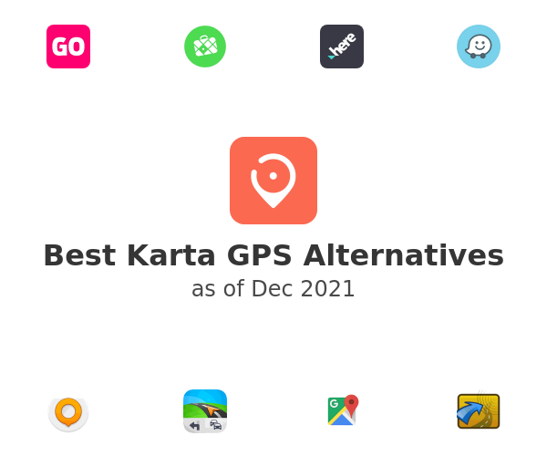 Best Karta GPS Alternatives