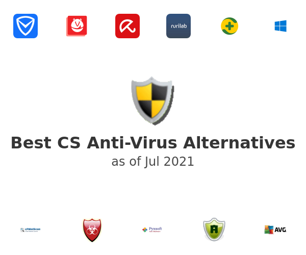 Best CS Anti-Virus Alternatives