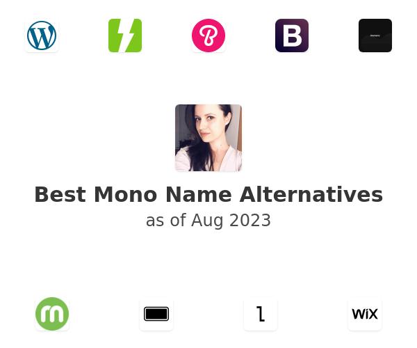 Best Mono Name Alternatives