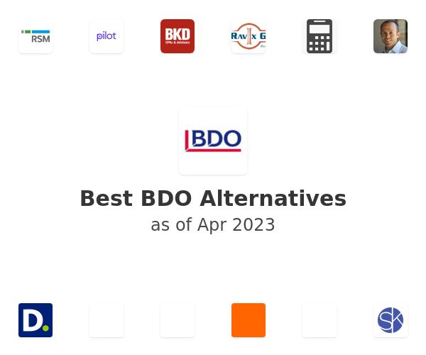 Best BDO Alternatives