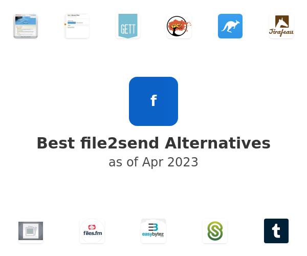 Best file2send Alternatives