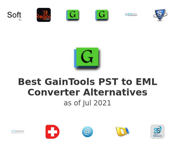 Best GainTools PST to EML Converter Alternatives
