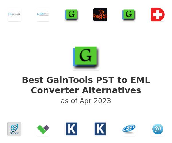Best GainTools PST to EML Converter Alternatives