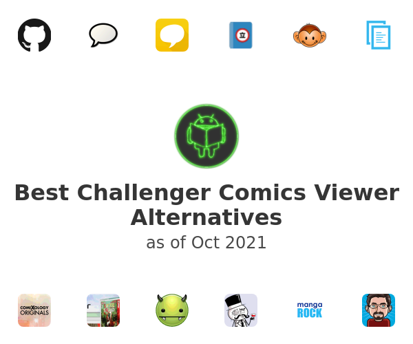 Best Challenger Comics Viewer Alternatives