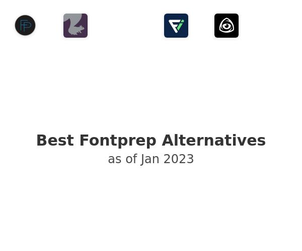 Best Fontprep Alternatives