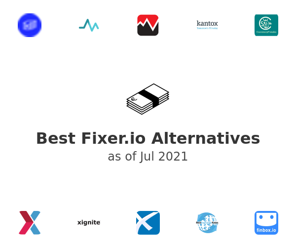 Best Fixer.io Alternatives