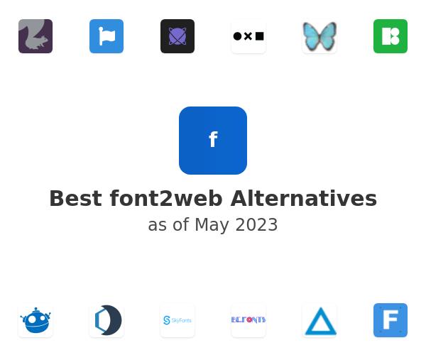 Best font2web Alternatives