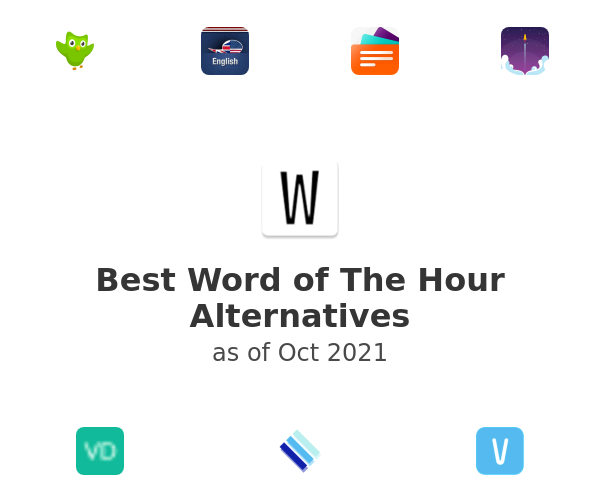 Best Word of The Hour Alternatives