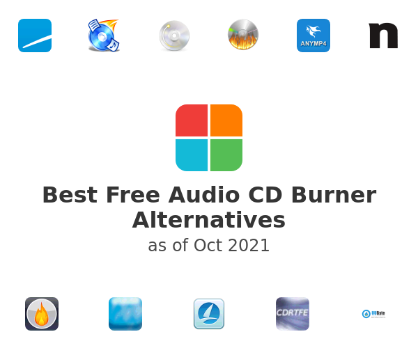Best Free Audio CD Burner Alternatives