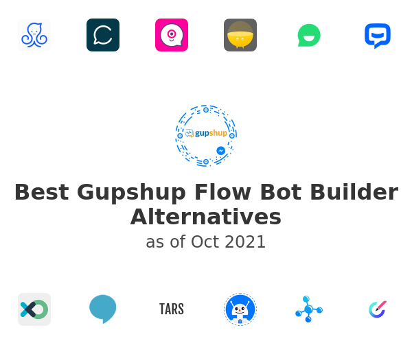 Best Gupshup Flow Bot Builder Alternatives