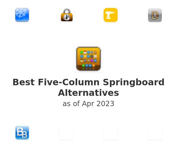 Best Five-Column Springboard Alternatives