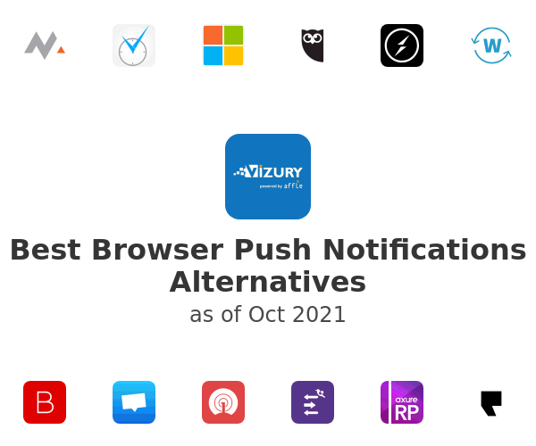 Best Browser Push Notifications Alternatives