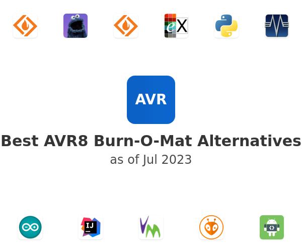 Best AVR8 Burn-O-Mat Alternatives