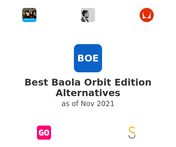 Best Baola Orbit Edition Alternatives