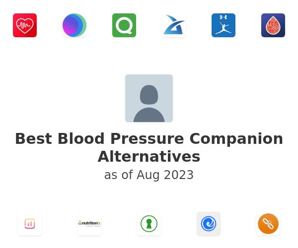 Best Blood Pressure Companion Alternatives