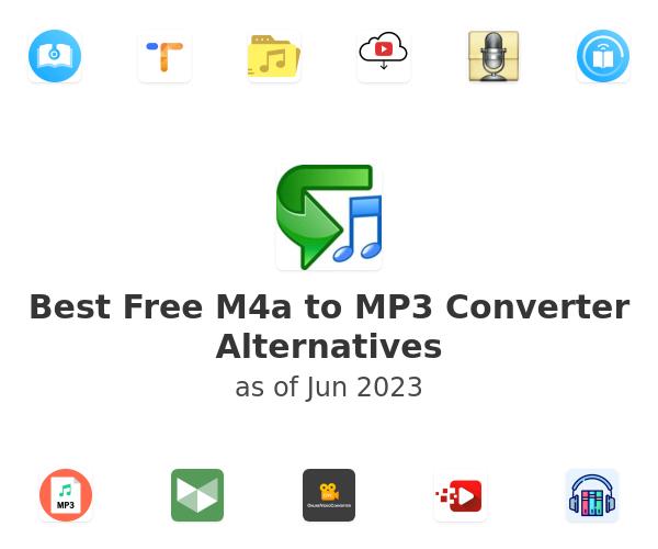 Best Free M4a to MP3 Converter Alternatives