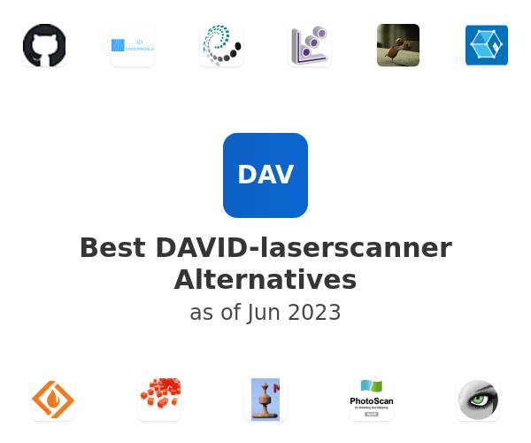 Best DAVID-laserscanner Alternatives