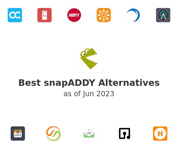 Best snapADDY Alternatives