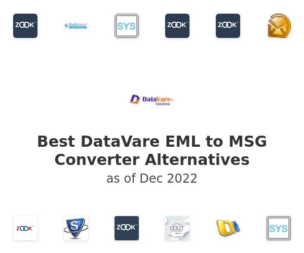 Best DataVare EML to MSG Converter Alternatives