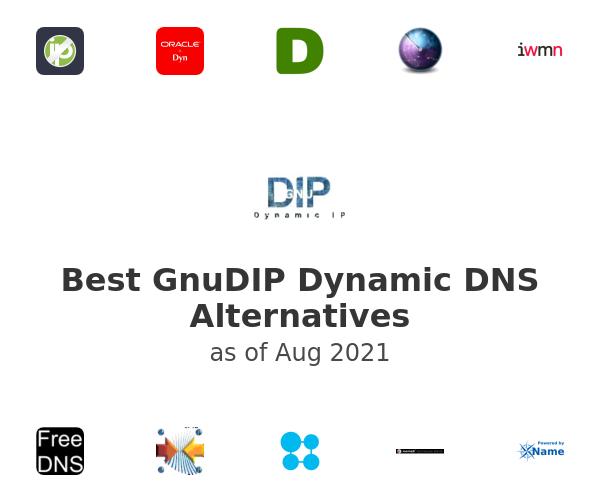 Best GnuDIP Dynamic DNS Alternatives