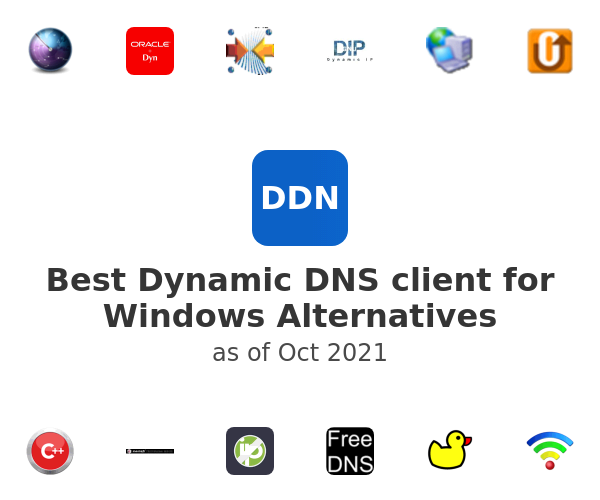 Best Dynamic DNS client for Windows Alternatives