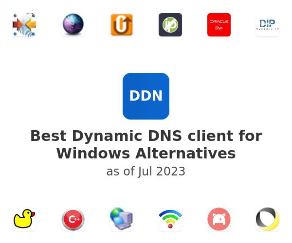 Best Dynamic DNS client for Windows Alternatives