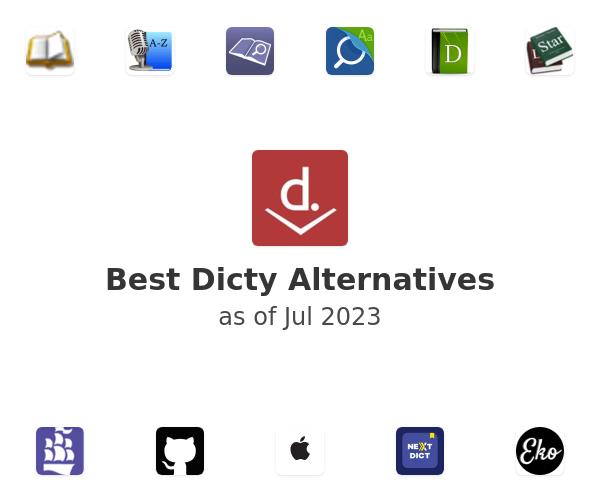 Best Dicty Alternatives