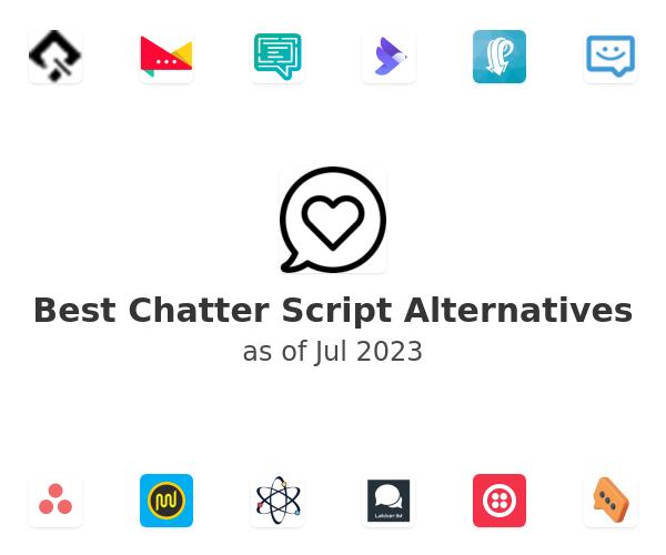 Best Chatter Script Alternatives