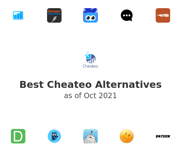 Best Cheateo Alternatives