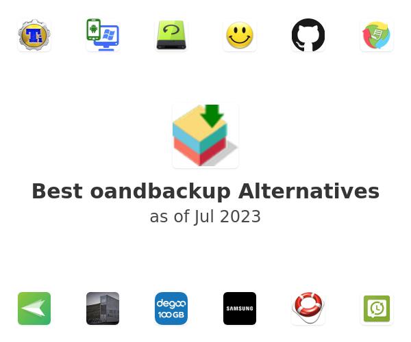 Best oandbackup Alternatives