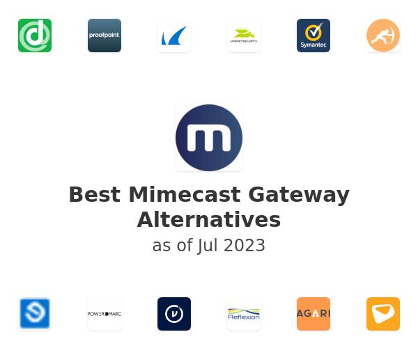 Best Mimecast Gateway Alternatives